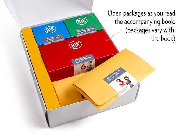 RIK packages to open as you read