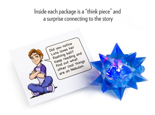 Think piece and surprise inside Reading Incentive Kit