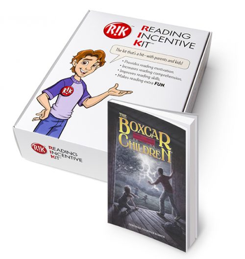 RIK for the Boxcar Children - with book